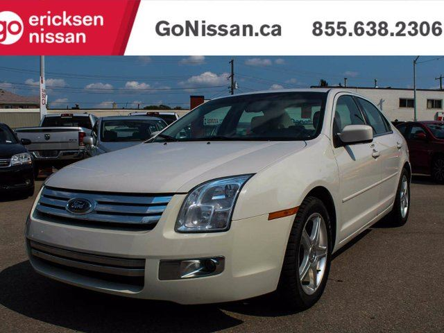 2008 FORD Fusion SEL, Leather, Alloy Wheels, Sunroof, Mint Conidtion! in Edmonton, Alberta
