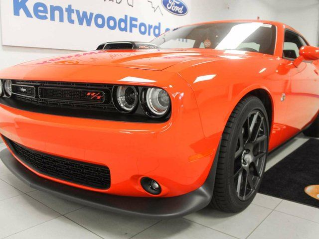 2016 Dodge Challenger R/T Scat Pack- NAV, sunroof, heated/cooled drivers seat and a heated steering wheel, but most important.. MANUAL! in Edmonton, Alberta