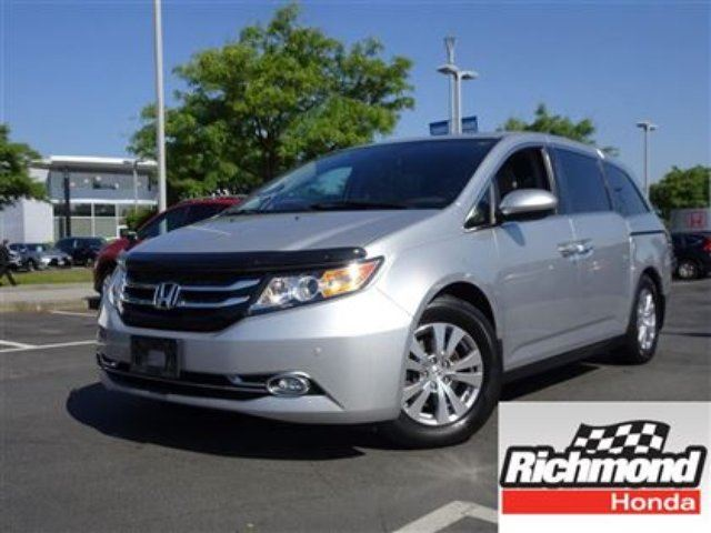 2015 HONDA Odyssey EX-L RES! Honda Certified Extended Warranty to 120 in Richmond, British Columbia