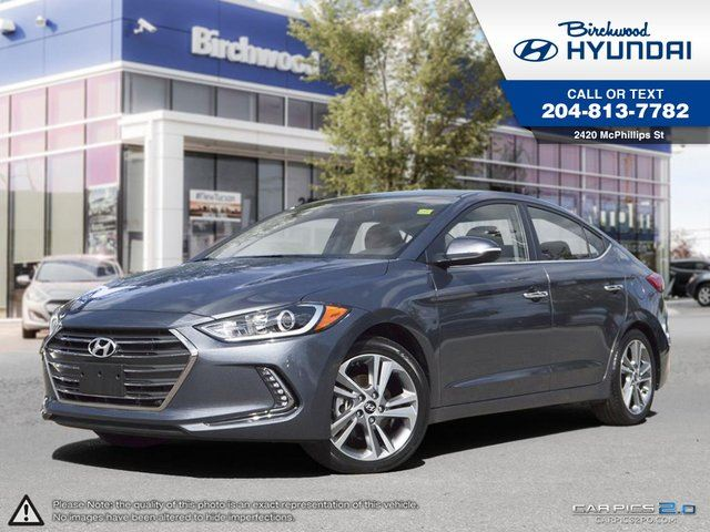 2017 HYUNDAI ELANTRA Limited Touch Screen Navigation System in Winnipeg, Manitoba