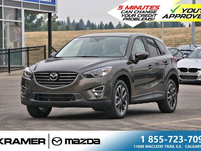 2016 MAZDA CX-5 GT w/Technology Package in Calgary, Alberta