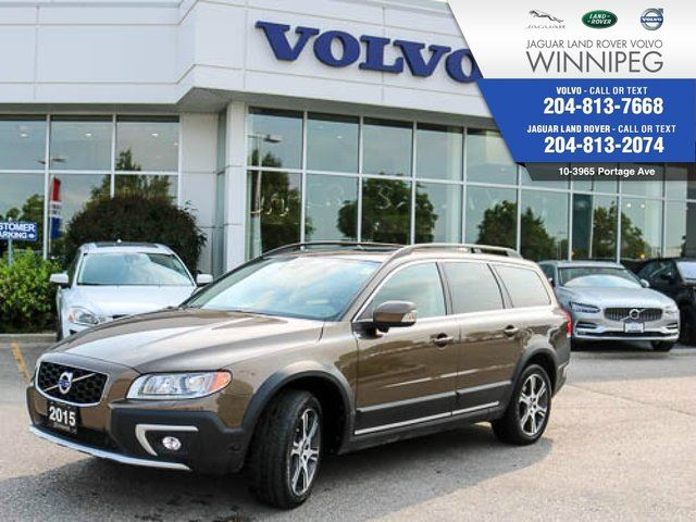 2015 Volvo XC70 T6 Premier Plus *LOCAL* *CERTIFIED PRE-OWNED* in Winnipeg, Manitoba