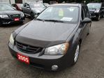 2005 Kia Spectra 5 'GREAT VALUE' 5 SPEED MANUAL HATCH MODEL 5 PASS in Bradford, Ontario