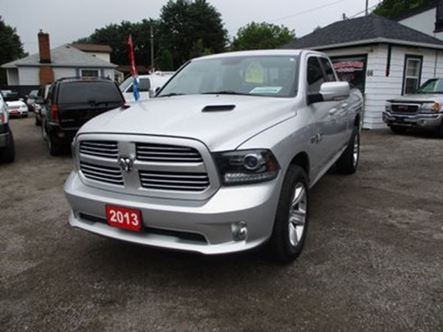 2013 dodge ram 1500 well equipped sport model 5 passenger 5 7l hemi bradford ontario car for. Black Bedroom Furniture Sets. Home Design Ideas