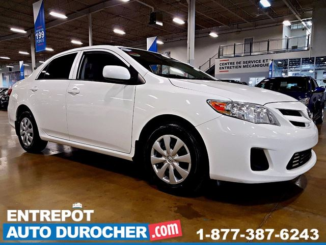 2011 Toyota Corolla AIR CLIMATISn++ - VITRES n++LECTRIQUES in Laval, Quebec