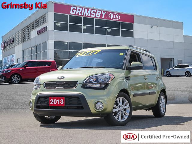 2013 Kia Soul 2.0L ONLY 1 OWNER AND LOW LOW MILEAGE!!! in Grimsby, Ontario
