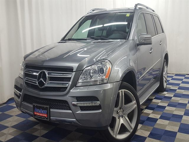 2012 MERCEDES-BENZ GL-CLASS GL 350 BlueTec AWD/CLEAN HISTORY/FULLY LOADED!! in Winnipeg, Manitoba