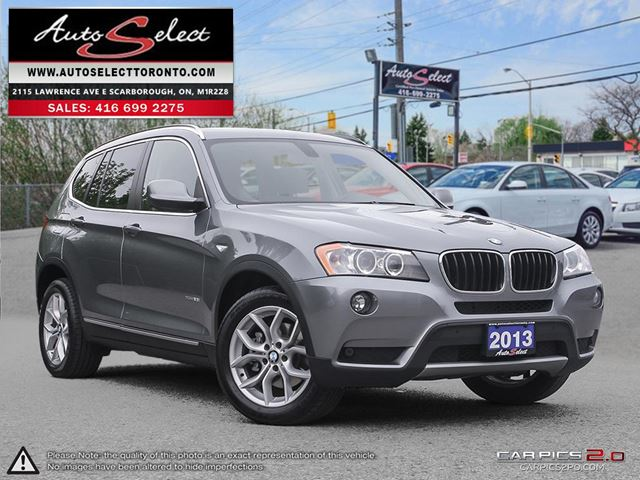 2013 BMW X3 xDrive28i AWD ONLY 93K! **NAVIGATION PKG** EXECUTIVE PKG in Scarborough, Ontario