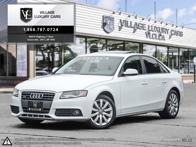 2012 AUDI A4 2.0T NEW BRAKES | NEW TIRES | NEW CAR TRADE IN in Markham, Ontario
