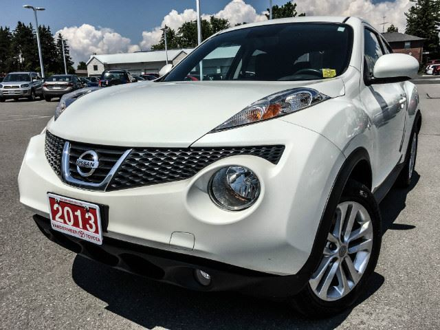 2013 NISSAN JUKE   SL AWD-LEATHER+NAVI! in Cobourg, Ontario