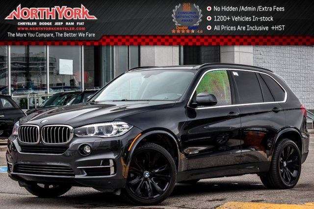 2014 BMW X5 xDrive35i Cold Wthr Pkg Pano_Sunroof Nav 360 Cam H/K Audio 20Alloys in Thornhill, Ontario