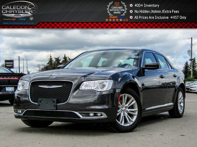 2016 Chrysler 300 Touring Navi Pano Sunroof Backup Cam Bluetooth R-Start Leather Head Front Seats 18Alloy Rims in Bolton, Ontario