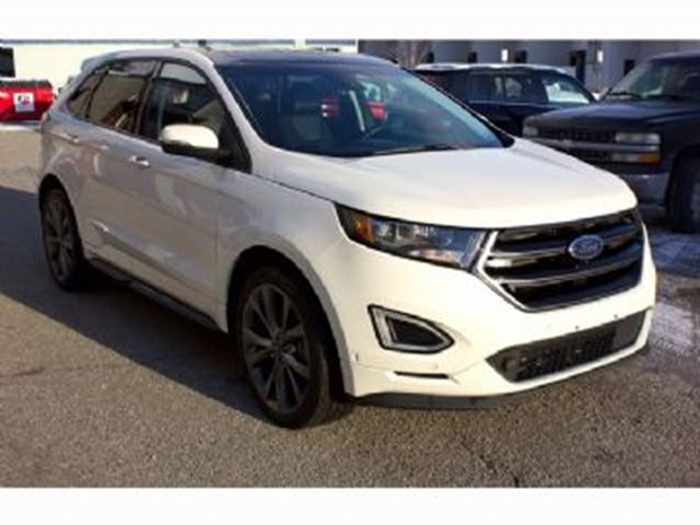 2016 Ford Edge Sport with 401A package, Navi, Leather, Panoramic, BLIS  + + in Mississauga, Ontario