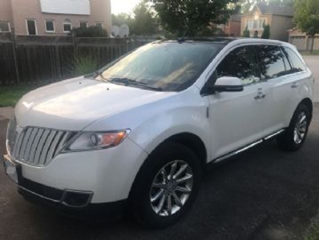 2015 Lincoln MKX AWD w/101A Equipment Group in Mississauga, Ontario