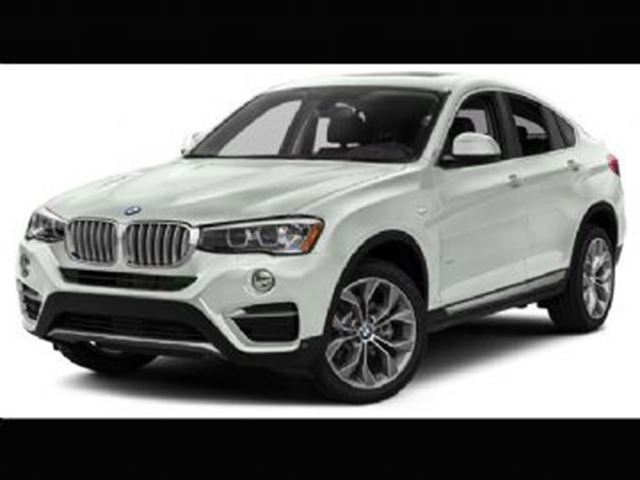 2017 BMW X4 X4 28I / Premium Package / Sport Seats in Mississauga, Ontario