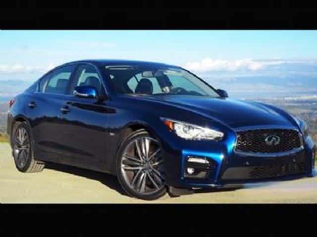 2017 INFINITI Q50 RED SPORT 400 AWD in Mississauga, Ontario
