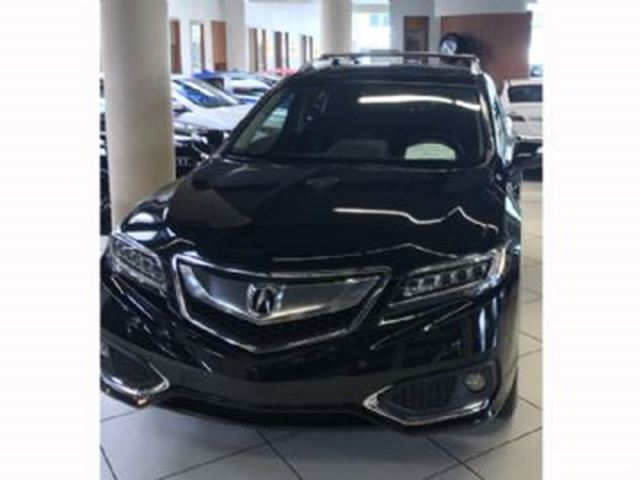2017 Acura RDX ELITE PACKAGE SH-AWD w/Lease Guard Wear Protection in Mississauga, Ontario