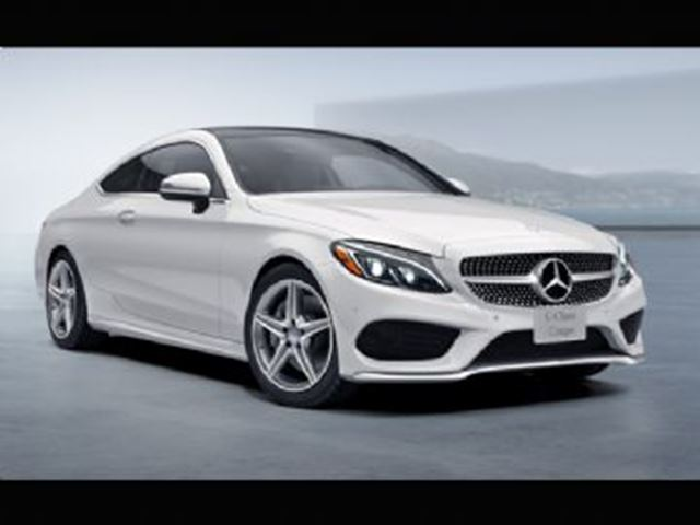 2017 Mercedes-Benz C-Class C300 4MATIC Coupe in Mississauga, Ontario