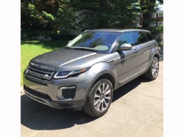 2016 LAND ROVER RANGE ROVER EVOQUE HSE, 2.0T turbo in Mississauga, Ontario