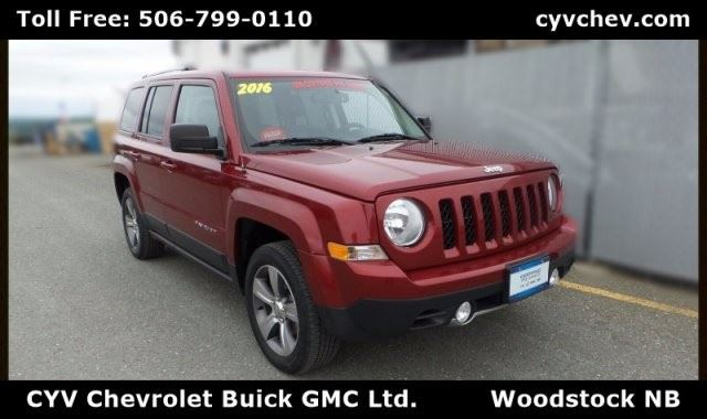 2016 Jeep Patriot High Altitude in Woodstock, New Brunswick