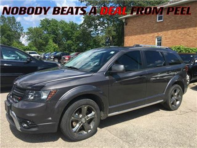 2014 Dodge Journey Crossroad**LEATHER**8.4-INCH SCREEN** in Mississauga, Ontario