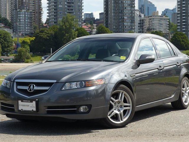 2008 ACURA TL Navi 5 SPD at in Vancouver, British Columbia