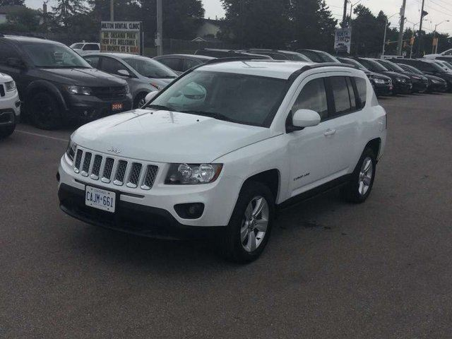 2016 Jeep Compass NORTH/BT/CAMERA/HTD STS & MORE!!! in Milton, Ontario