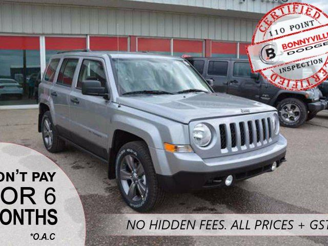 2016 JEEP PATRIOT SPORT, DEMO MODEL, HUGE SAVINGS, UNDER 1,000KMS in Bonnyville, Alberta