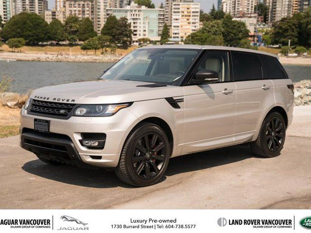 2015 LAND ROVER RANGE ROVER Sport V8 Supercharged Autobiography Dynamic in Vancouver, British Columbia
