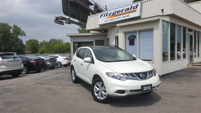 2012 NISSAN MURANO SV (CVT) - BACK-UP CAM! PANO ROOF! in Kitchener, Ontario