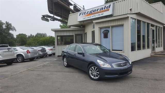 2009 INFINITI G37 X Luxury - LEATHER! SUNROOF! BLUETOOTH! in Kitchener, Ontario