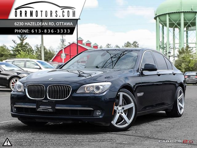 2012 BMW 7 Series 750 750i xDrive Sedan in Stittsville, Ontario