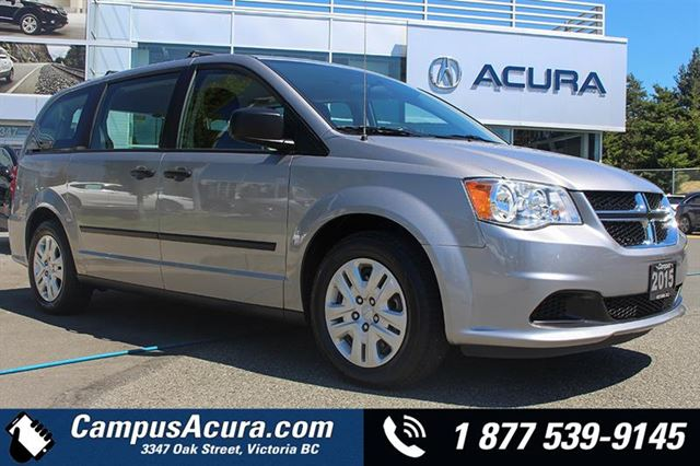 2015 DODGE GRAND CARAVAN 4dr Wgn Canada Value Package in Victoria, British Columbia