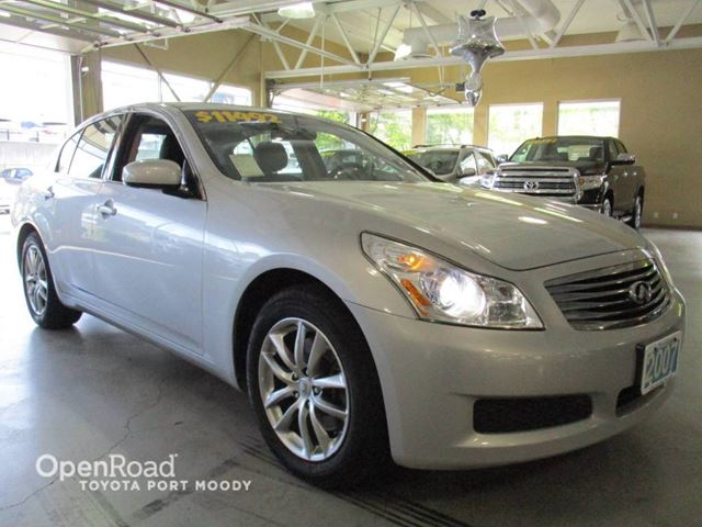 2007 INFINITI G35  All-Wheel Drive, Bluetooth, Leather, Sunroof, H in Port Moody, British Columbia