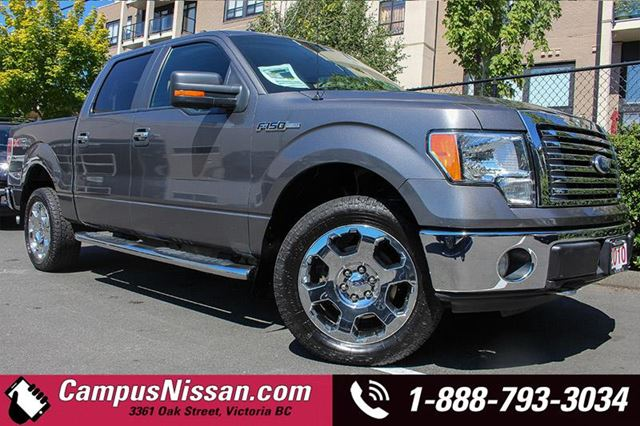 2012 Ford F-150 SuperCrew FX4 wBED LINER in Victoria, British Columbia
