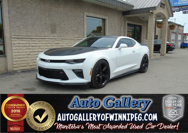 2016 Chevrolet Camaro 2SS  *Lthr/Roof in Winnipeg, Manitoba