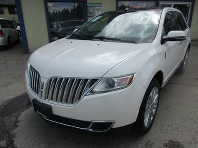 2014 LINCOLN MKX LOADED AWD 5 PASSENGER 3.7L - V6.. LEATHER.. HE in Bradford, Ontario