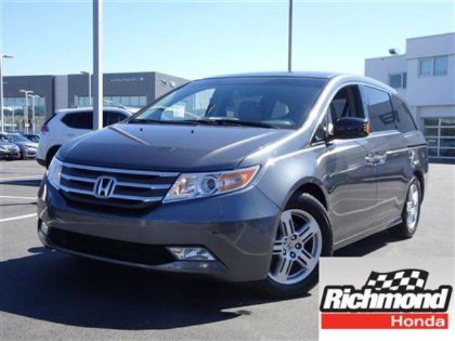 2012 HONDA Odyssey Touring! Honda Certified Extended Warranty to 120 in Richmond, British Columbia