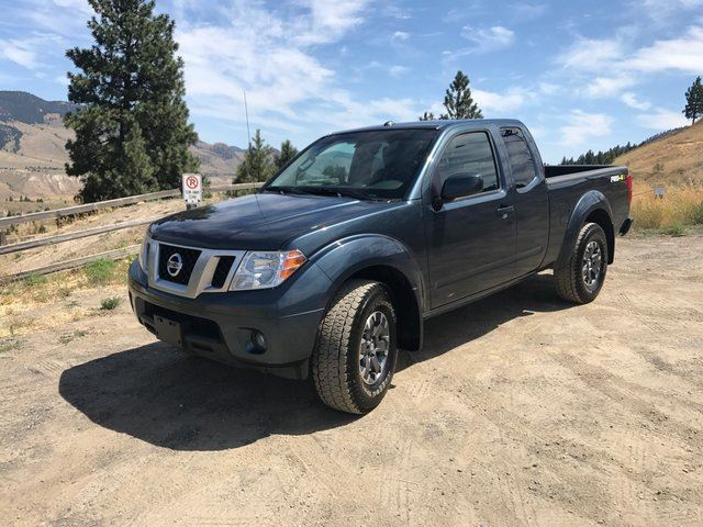 2014 NISSAN FRONTIER PRO-4X 4x4 King Cab 126 in. WB in Kamloops, British Columbia