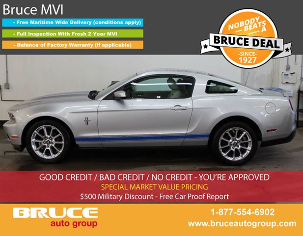 2010 Ford Mustang 4.0L 6 CYL AUTOMATIC RWD 2D COUPE in Middleton, Nova Scotia
