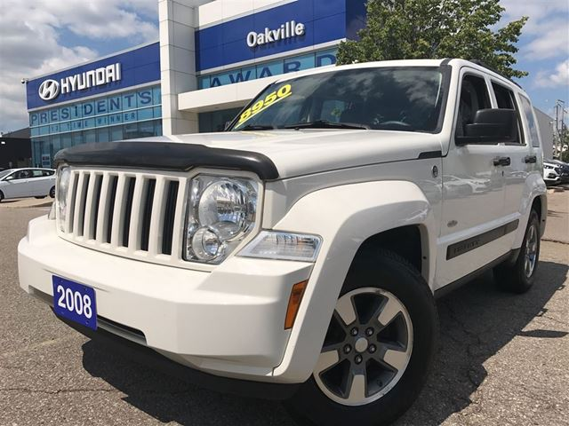 2008 JEEP LIBERTY SPORT  4X4  ALLOYS  ROOF  BLUETOOTH in Oakville, Ontario