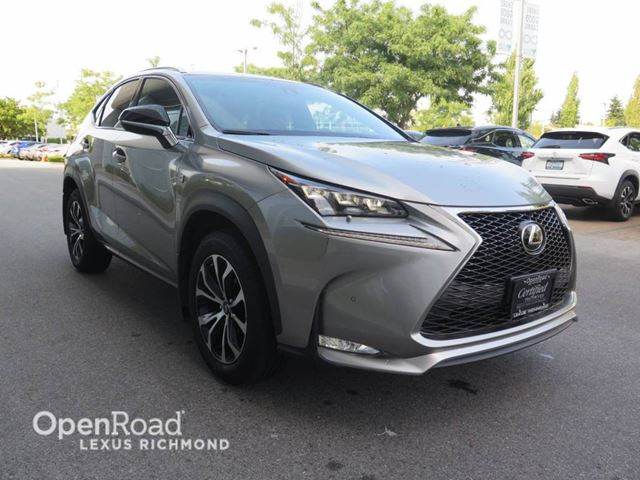 2015 LEXUS NX 200T F SPORT 2 - Certified in Richmond, British Columbia
