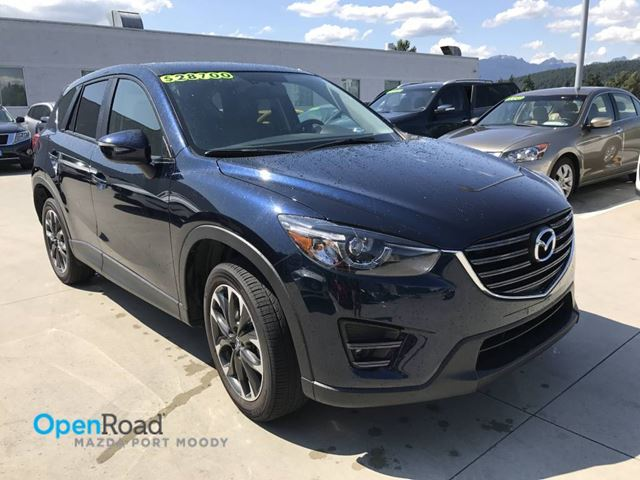 2016 MAZDA CX-5 GT AWD A/T No Accident Local Bluetooth USB AUX  in Port Moody, British Columbia