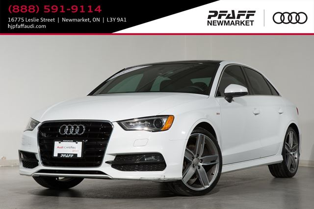 2015 AUDI A3 1.8T Progressiv LOW FINANCE RATES AVAILABLE in Newmarket, Ontario