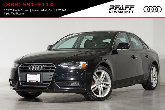 2013 AUDI A4 Premium 6-SPEED MANUAL GEARBOX in Newmarket, Ontario