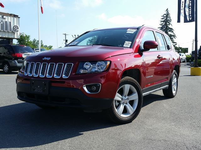2016 Jeep Compass LEATHER HEATED SEATS - REMOTE START - BOSTON SOUND - POWER SEAT in Belleville, Ontario