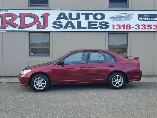 2005 HONDA CIVIC SE ACCIDENT FREE.ONLY85000KM in Hamilton, Ontario