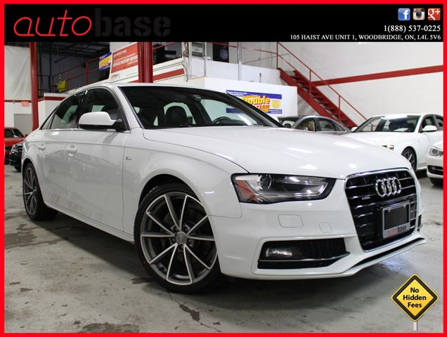 2015 Audi A4 S-LINE SPORT | NAVIGATION | PROGRESSIV PLUS in Woodbridge, Ontario