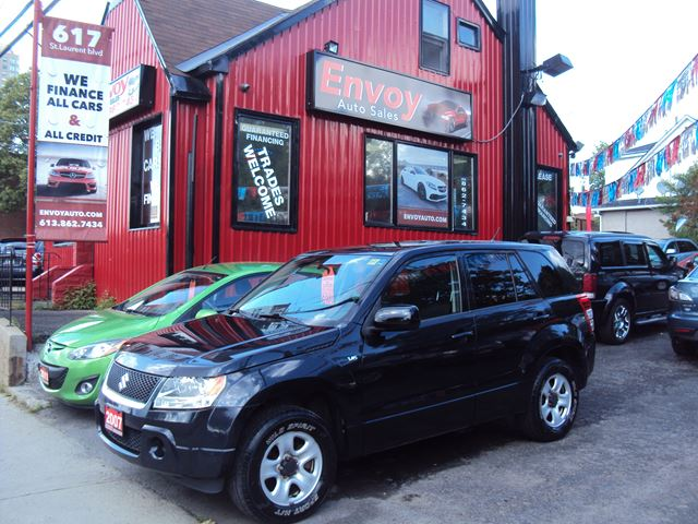2007 Suzuki Grand Vitara 4WD!!!LOW KMS!!REALLY CLEAN!! in Ottawa, Ontario