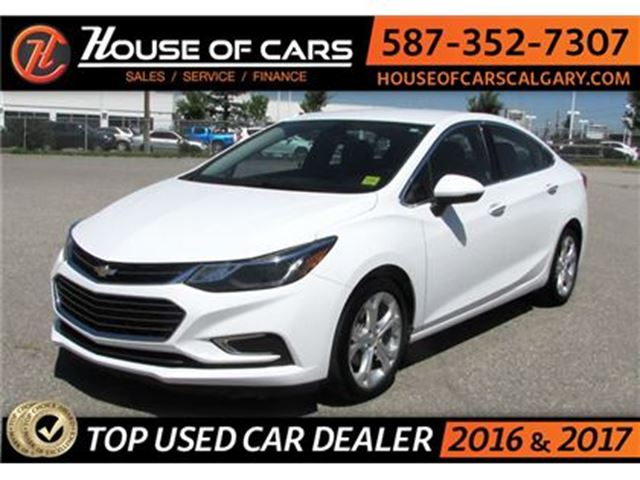 2017 CHEVROLET CRUZE Premier/ Leather / Back up Camera / Bluetooth in Calgary, Alberta